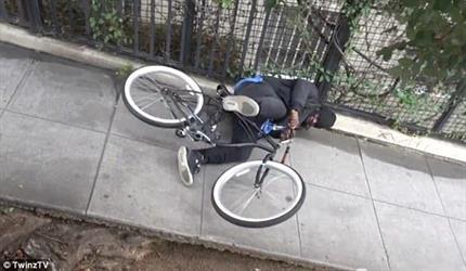 أمريكي يصنع فخًا لسارقي الدراجات ليصعقهم بالكهرباء