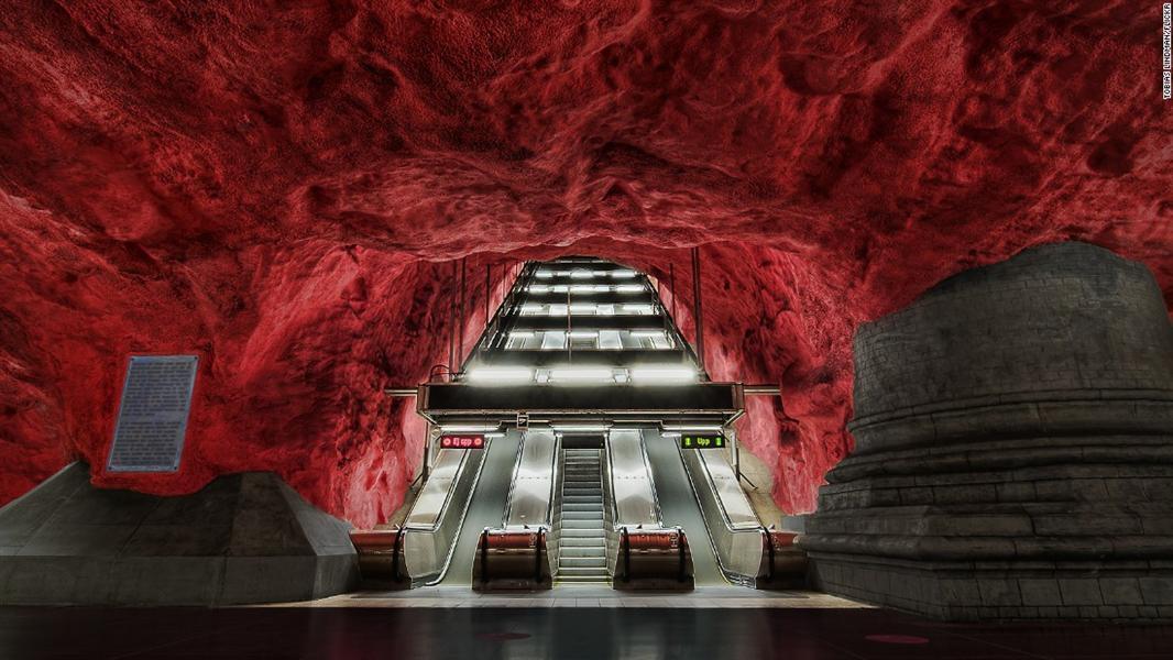 بالصور.. روائع معمارية تحت الأرض