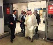 عبد الرحمن بن مساعد والسفير السعودي