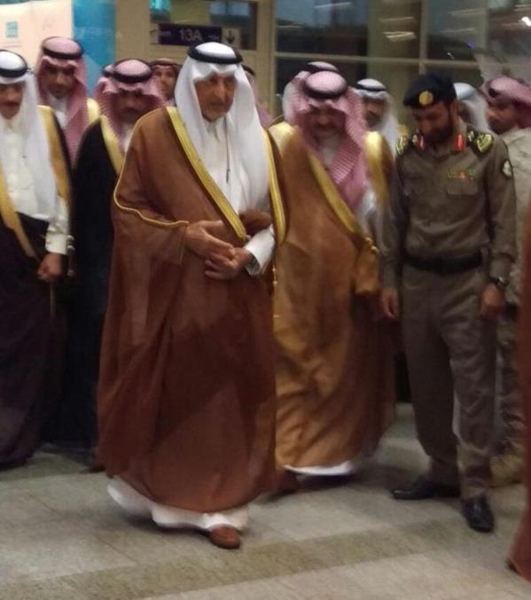 خالد الفيصل: لن نسمح بأي إخلال بالأمن خلال موسم الحج - صور