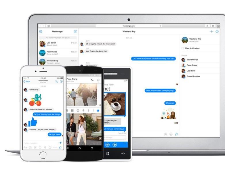 Facebook messenger web app 5