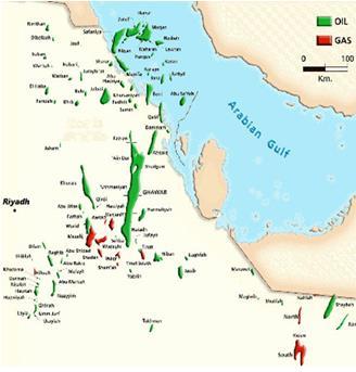 الفا بيتا الرياض منطقة غنية وواعده بالإكتشافات النفطية والغازية