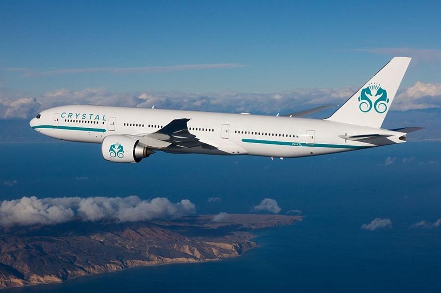 صور من أفخم طائرة تجارية في العالم