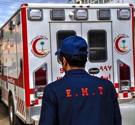 مصرع وإصابة 12 شخصاً في تصادم لـ 3 مركبات جنوب الليث