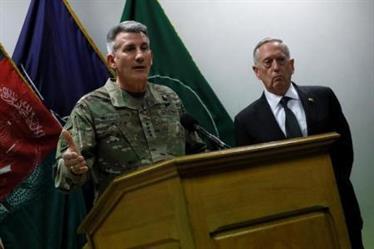 """جنرال أمريكي بارز: """"لا أدحض"""" التقارير عن دعم روسي لطالبان"""
