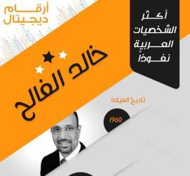 توبك انفوجرافيك الشخصيات العربية خالد الفالح