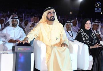 محمد بن راشد يفتتح أكبر وجهة ترفيهية في الشرق الأوسط (صور وفيديو)