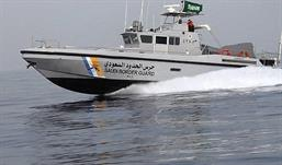 دورية بحرية لحرس الحدود