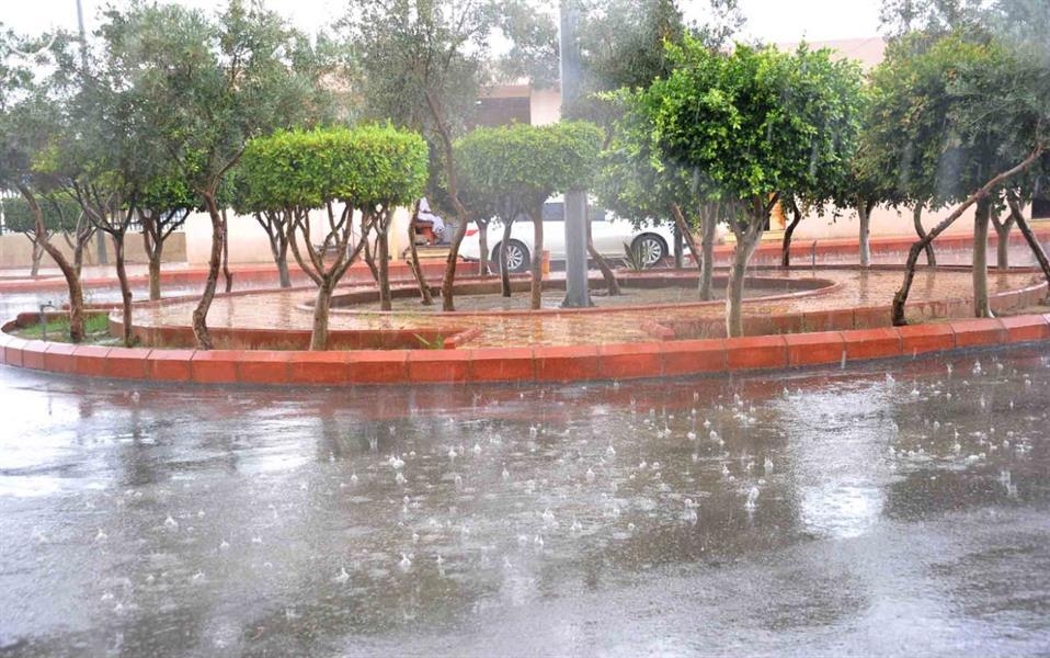 أمطار على محافظة الطائف