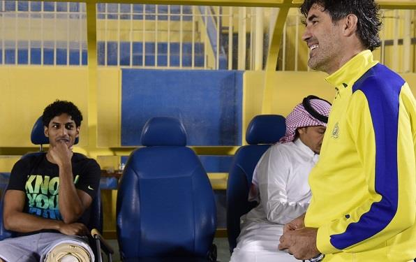 عبد العزيز الجبرين يبدأ أولى خطوات العودة للملاعب