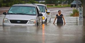أوباما يعلن بأن بعض أنحاء ولاية تكساس مناطق منكوبة