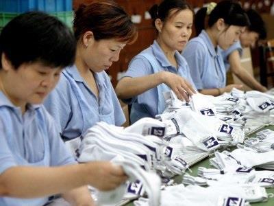 تنتج احدى مقاطعات الصين 8 مليار زوج من الجوارب سنوياً.