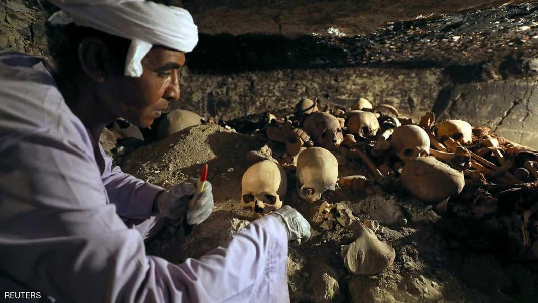 بالصور.. اكتشاف ضخم لمقبرة صانع مجوهرات فرعوني