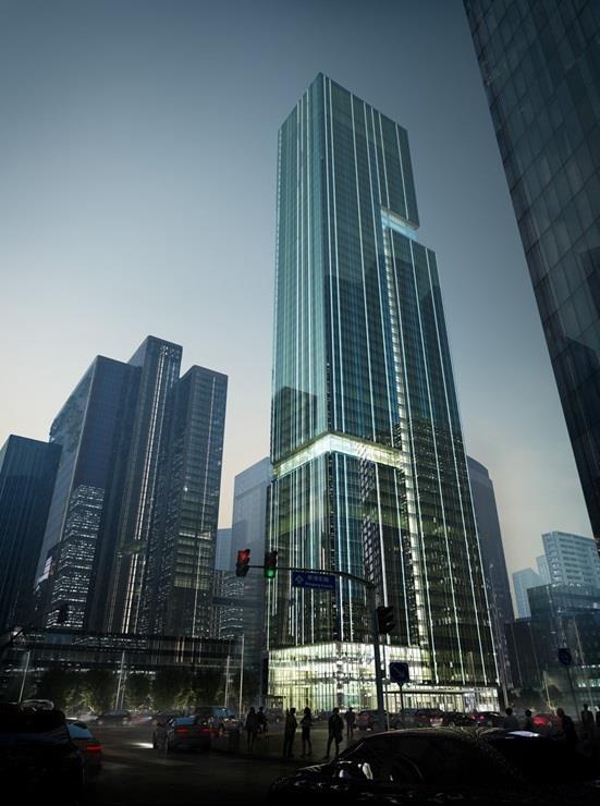 """برج""""برافو جروب باتوشو متعدد الاستخدامات"""" أو """"Bravo Group Pazhou Mixed use"""" في مدينة """"هانزو"""" الصينية"""