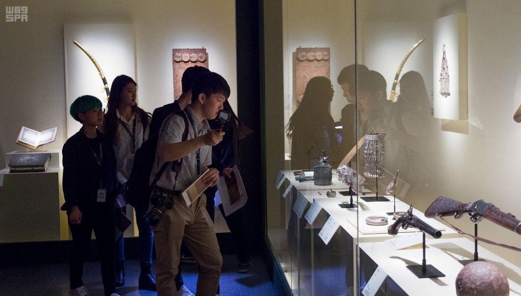 بالصور.. اقبال كبير على معرض للآثار المملكة العربية السعودية والجزيرة العربية في كوريا الجنوبية