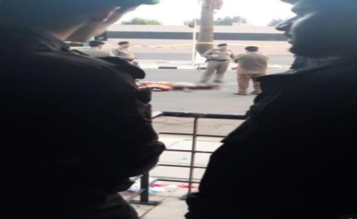 صورة للإرهابي الذي حاول مهاجمة قصر السلام بجدة بعد قتله من قبل رجال الأمن