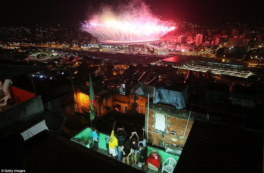 """شاهد تقرير مصور ... يخلد ذكريات تاريخية لــ """" ريو 2016 """""""