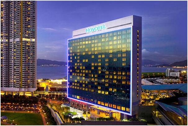 """فندق """"نوفيتيل سيتي جيت"""" """"Novotel Citygate"""" في هونج كونج."""