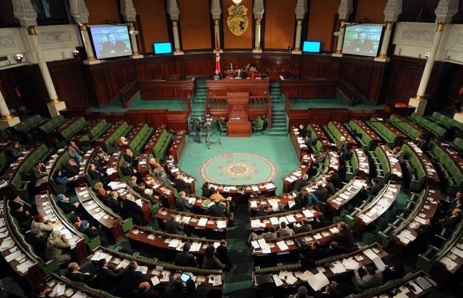 سماع إطلاق داخل البرلمان التونسي