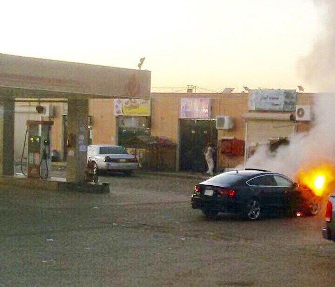أمير تبوك يكرم المصري الذي أنقذ بشجاعة محطة وقود في حي سكني من الاحتراق (صور)