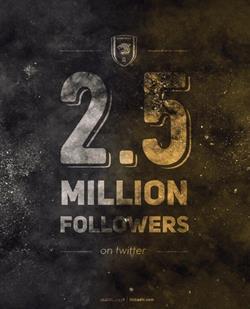 الاتحاد يحتفل بـ 2.5 مليون متابع