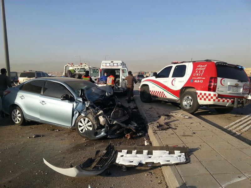 حادث بدائري الرياض يصرع شخصاً