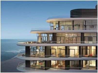 """كما ويعتبر منزل """"بنتهاوس"""" الواقع في الطابق الـ18 في عمارة """" Faena""""، أغلى شقة بيعت في مدينة"""" ميامي بيتش""""، إذ بيعت بمبلغ 60 مليو"""