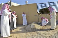 بالصور.. نجلا الملك عبدالله بمقبرة العود لزيارة قبر أبيهما