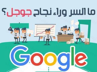 توبك انفوجرافيك السر وراء نجاح جوجل