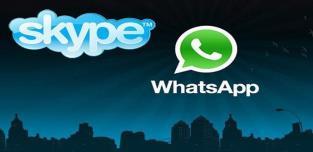 whatsapp skype