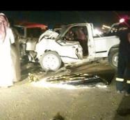 مصرع اثنين وإصابة آخرين في حادث على طريق العين ببحرة