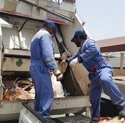 الدمام: إتلاف 300 كلجم من اللحوم غير الصالحة للاستهلاك الآدمي