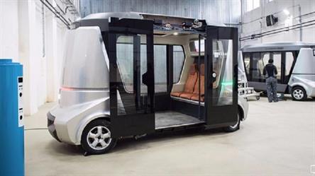 افتتاح طريق لاختبار سيارات بلا سائق في موسكو