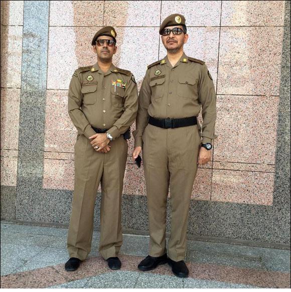 الزِّي العسكري الجديد لرجال أمن الحرمين الشريفين