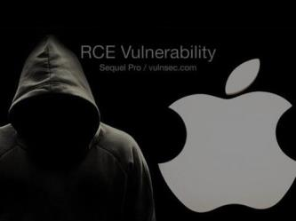rce vulnerability  apple mac