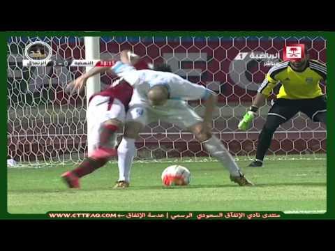 الإتفاق ( 5 - 0 ) النهضة  دوري الدرجة الأولى السعودي
