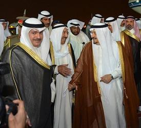 أمير دولة الكويت يصل الرياض