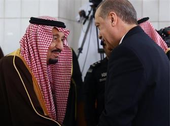 """""""أردوغان"""" يشكر خادم الحرمين الشريفين عبر تويتر"""