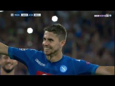 نابولي ( 2 - 0 ) نيس دوري ابطال اوروبا