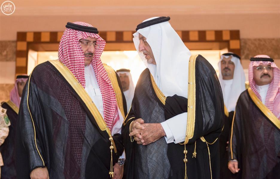 الملك سلمان وولي العهد في ضيافة أمير مكة.. وكلمة بليغة للفيصل بهذه المناسبة