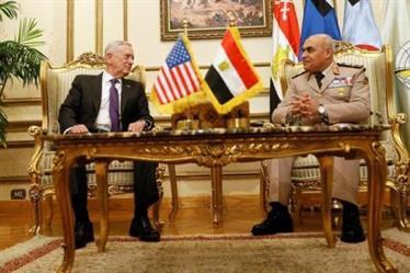 """تدريبات عسكرية """"مصرية – أمريكية"""" مشتركة في البحر الأحمر"""