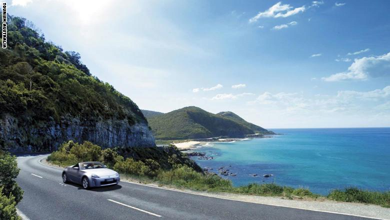 """طريق """"Great Ocean"""" في أستراليا"""
