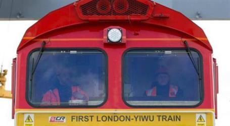 (بالصور) انطلاق أول قطار بين بريطانيا والصين.. هل تعلم كم تستغرق مدة الرحلة؟