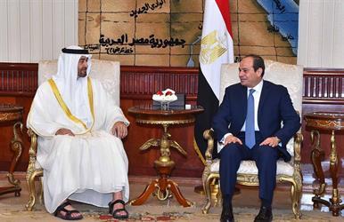 اتفاق مصري إماراتي على محاربة تمويل الإرهاب