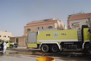 وفاة طفلين وإصابة 3 إثر اندلاع حريق بمنزل في الرياض