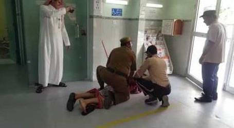 شرطة جازان تكشف حقيقة فيديو تهجم شخص بالسلاح على موظف بمستشفى الداير