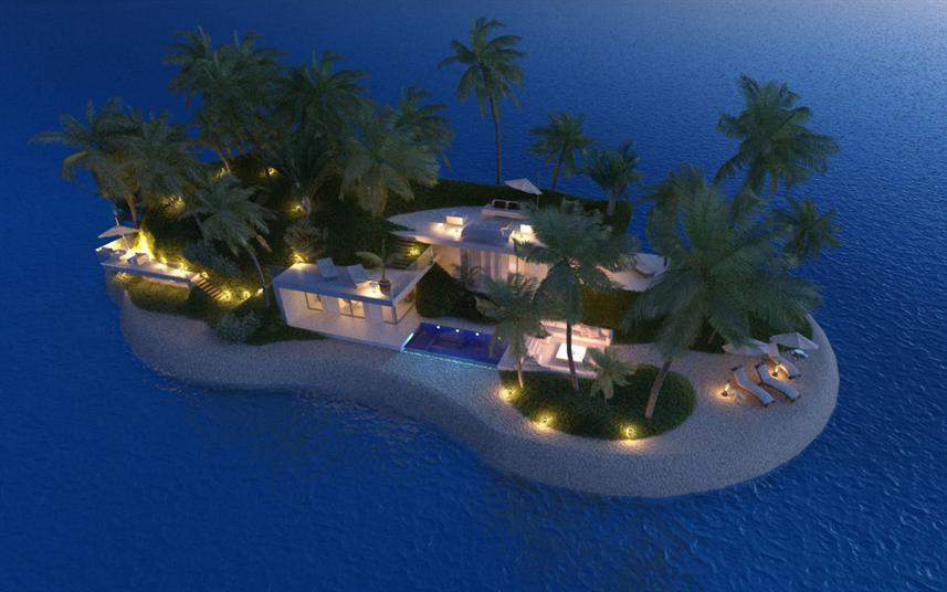 تصميمات فريدة لأول جزر خاصة متنقلة في العالم