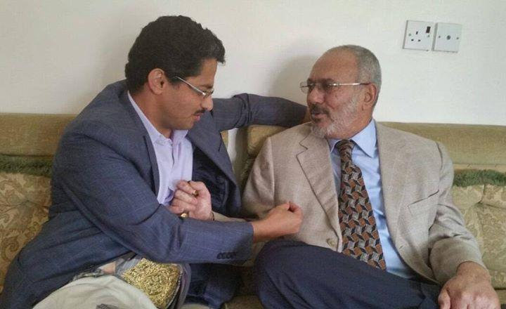بالصور.. علي عبدالله صالح في أول ظهور له بعد تحرير عدن وقاعدة العند