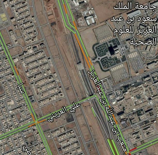 """افتتاح نفق """"الحرس الوطني"""" على الدائري الثاني شرق الرياض"""