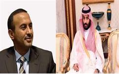 قاء الأمير محمد بن سلمان بنجل صالح